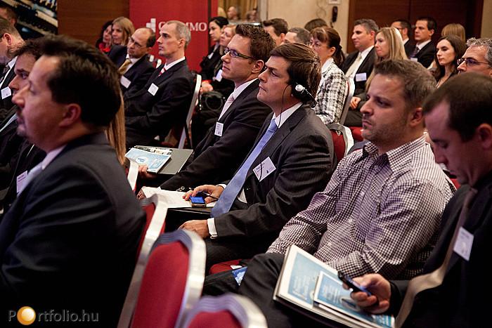 A Portfolio.hu Property Investment Forum 2012 résztvevői.