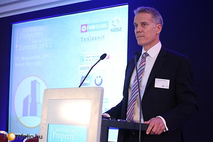 Michael Atwell (Head of Capital Markets CEE (Varsó), CBRE)