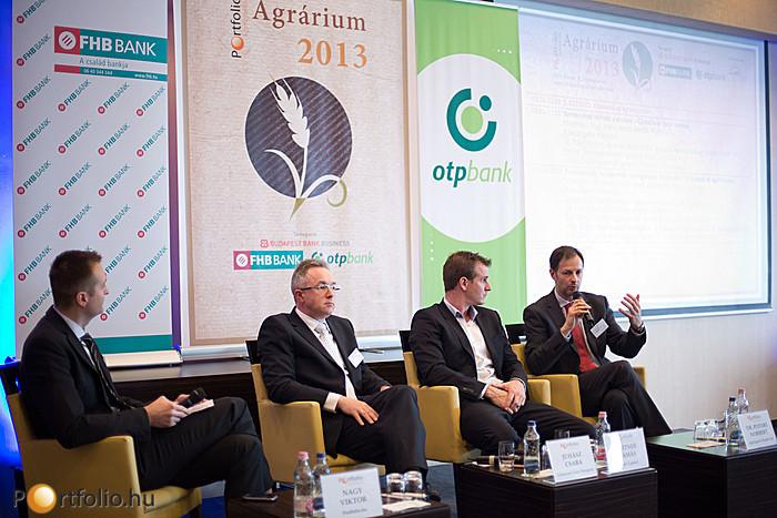 Portfolio.hu Agrárium 2013 Konferencia (2013. február 12.) - Hogyan alakulnak a terményárak itthon és nagyvilágban?