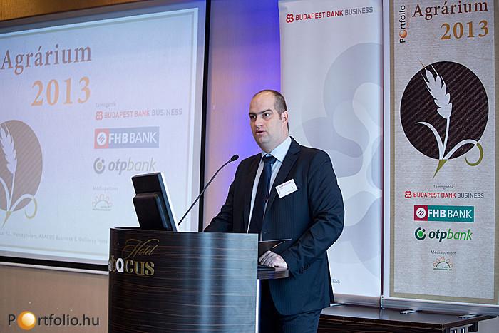 Az eseményt Bán Zoltán, a Portfolio.hu-t is kiadó NET Média Zrt. vezérigazgatója nyitotta meg.