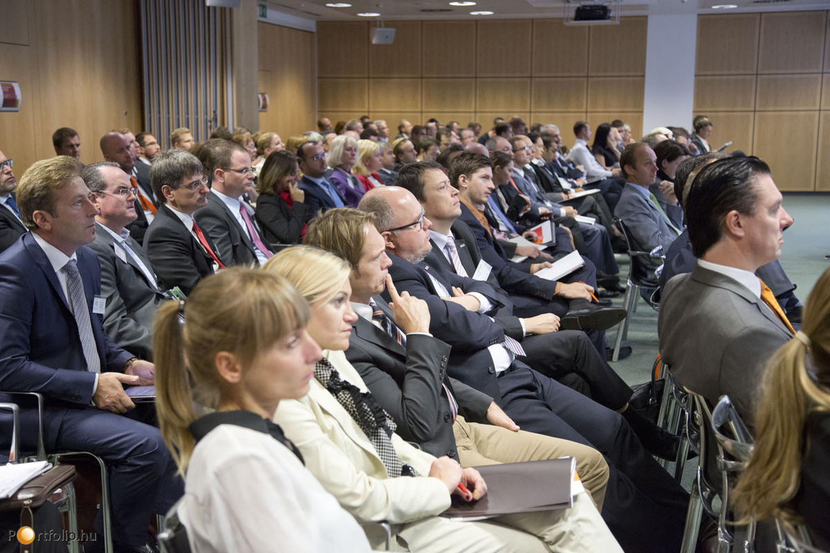 Many companies of the real estate market were represented at the conference.