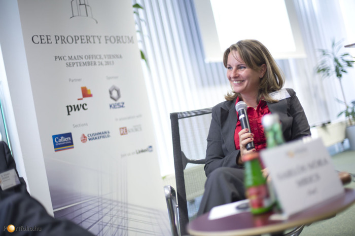 Nóra Sarlós MRICS (Senior Manager, PwC) participated at panel discussion about the regional investments trends.