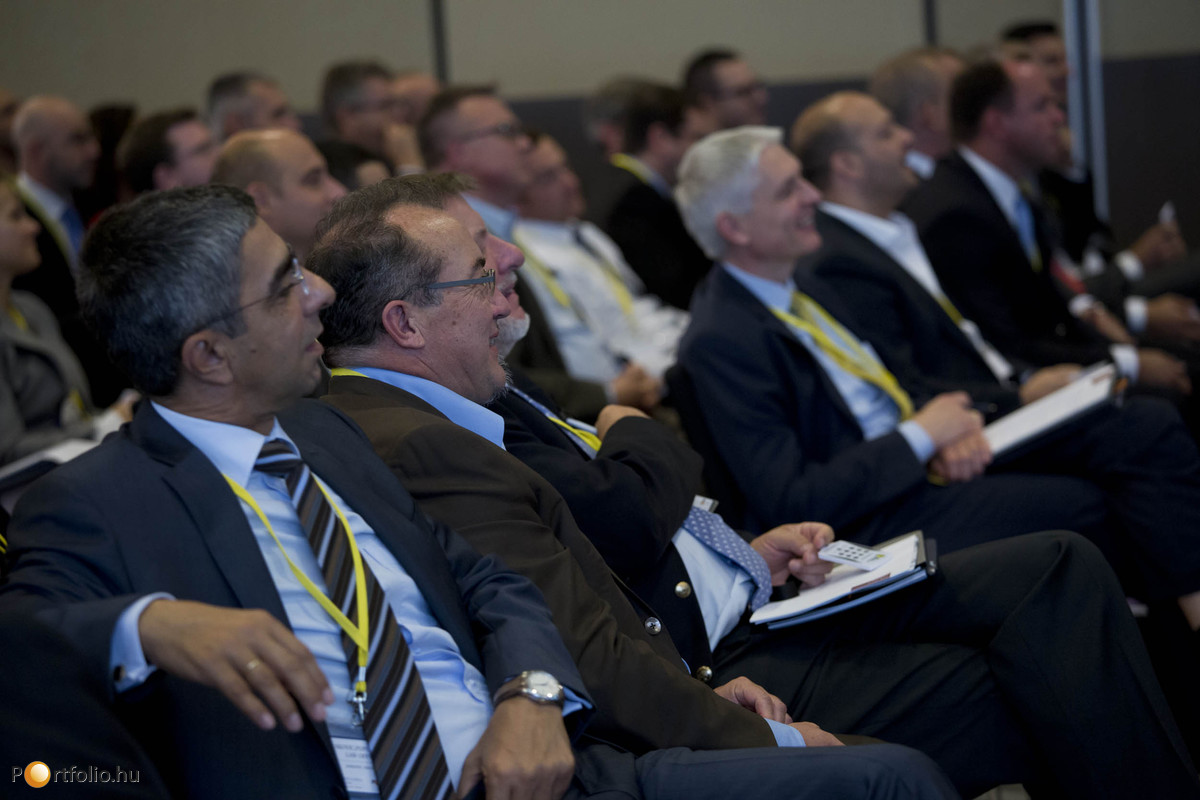 Top level real estate decision makers, CEE real estate professionals at one event in Vienna.