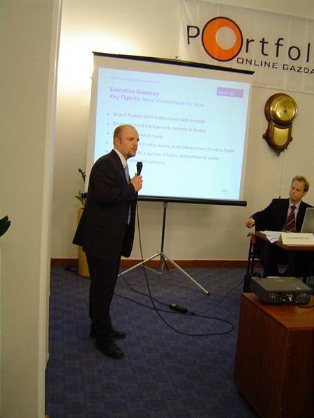 Koch Zoltán prezentál