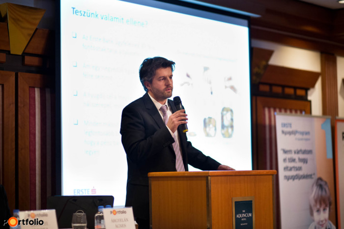 Tenke Gábor, igazgató, Erste Bank Lakossági Termékfejlesztési Igazgatóság
