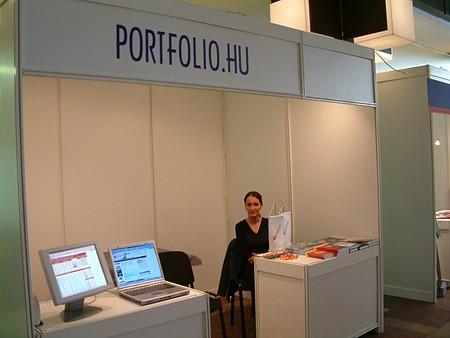 A portfolio.hu standja
