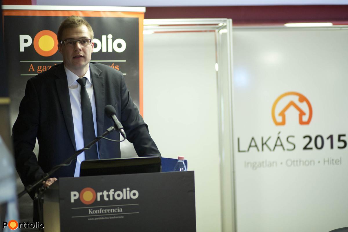 Pélyi András (FHB Bank): Lakáshitelezés 2015-ben – lehetőségek, állami támogatások (Fotó: Todoroff Lázár)