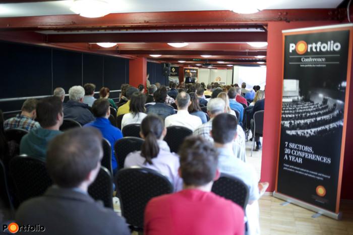 A LAKÁS 2015 kiállítás keretein belül megrendeztünk egy két napos Portfolio Klubot is, melynek témái a lakásvásárlás köré összpontosultak. (Fotó: Todoroff Lázár)