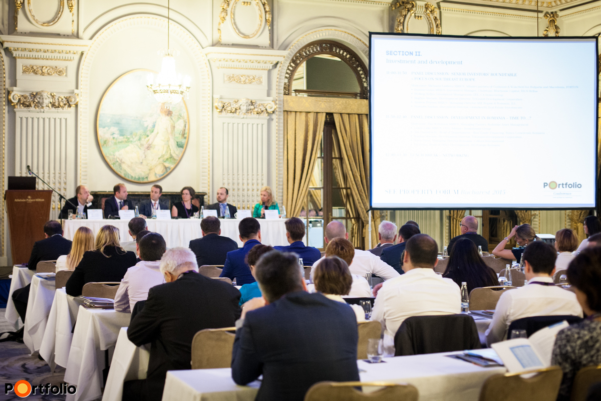 This year SEE Property Forum took place in Athenee Palace Hilton Bucharest Hotel, Bucharest, Romania.