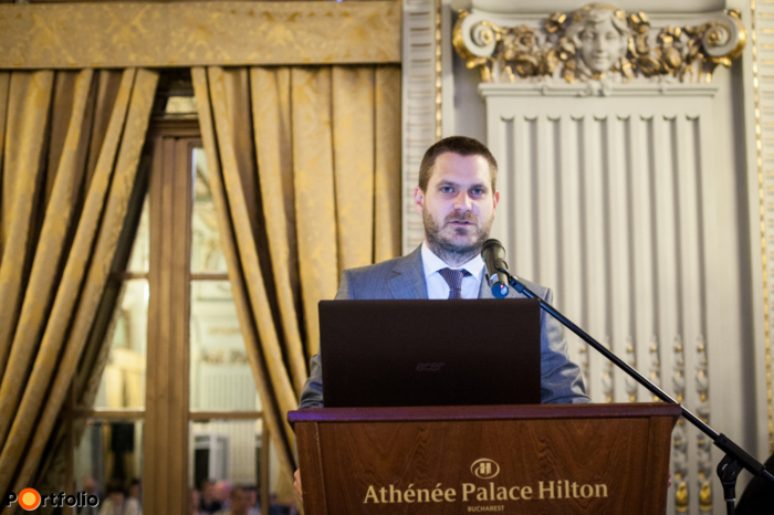 Csanád Csűrös, organiser of SEE Property Forum and Business Development Director at Portfolio.