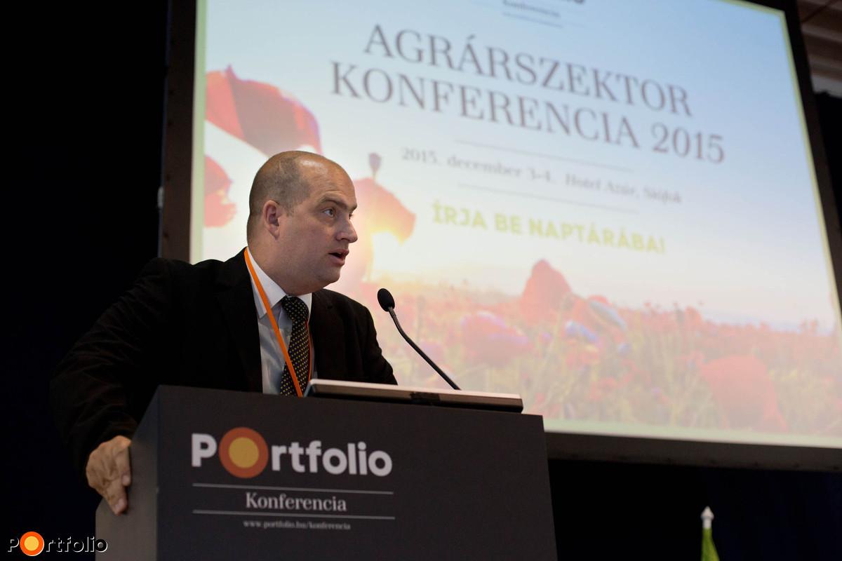 A rendezvényt Bán Zoltán, a Portfolio kiadó Net Média Zrt. vezérigazgatója nyitotta meg.