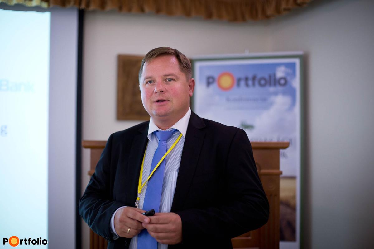 Megtakarítási lehetőségek Létezik-e biztonságos befektetés egyáltalán Farkas Róbert (igazgató, Takarékbank). (Fotó: Hurta Hajnalka)