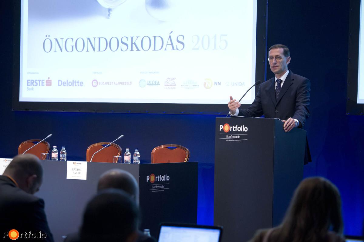 Varga Mihály (nemzetgazdasági miniszter, NGM): Mit tesz a kormány a magyarok öngondoskodásáért?