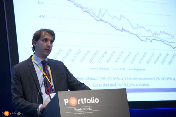 Barcza György (vezérigazgató, ÁKK): Hogyan hatnak az alacsony hozamok a megtakarítási termékek eladhatóságára?