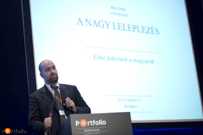 Bán Zoltán (vezérigazgató, Net Média Zrt. (Portfolio) az előzetesen elvégzett közönségfelmérésünk eredményeit szemléltette.