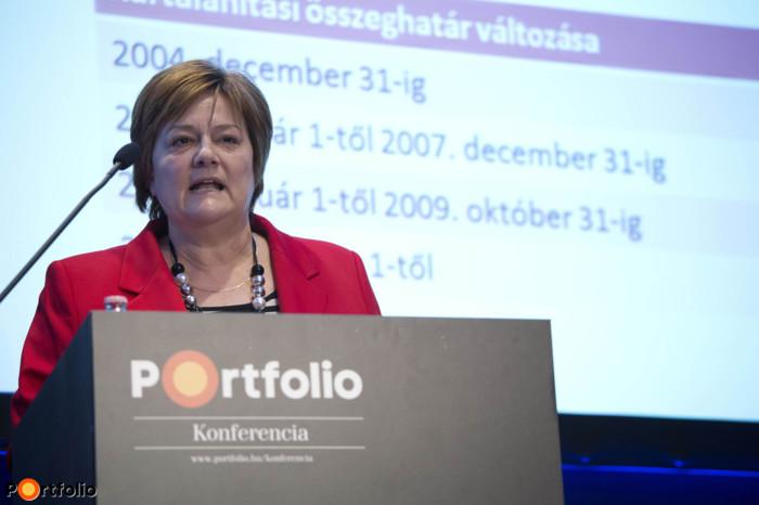 dr. Kiss Krisztina (vezető jogtanácsos, Beva): Beva: Jelenlegi és jövőbeni kihívások.