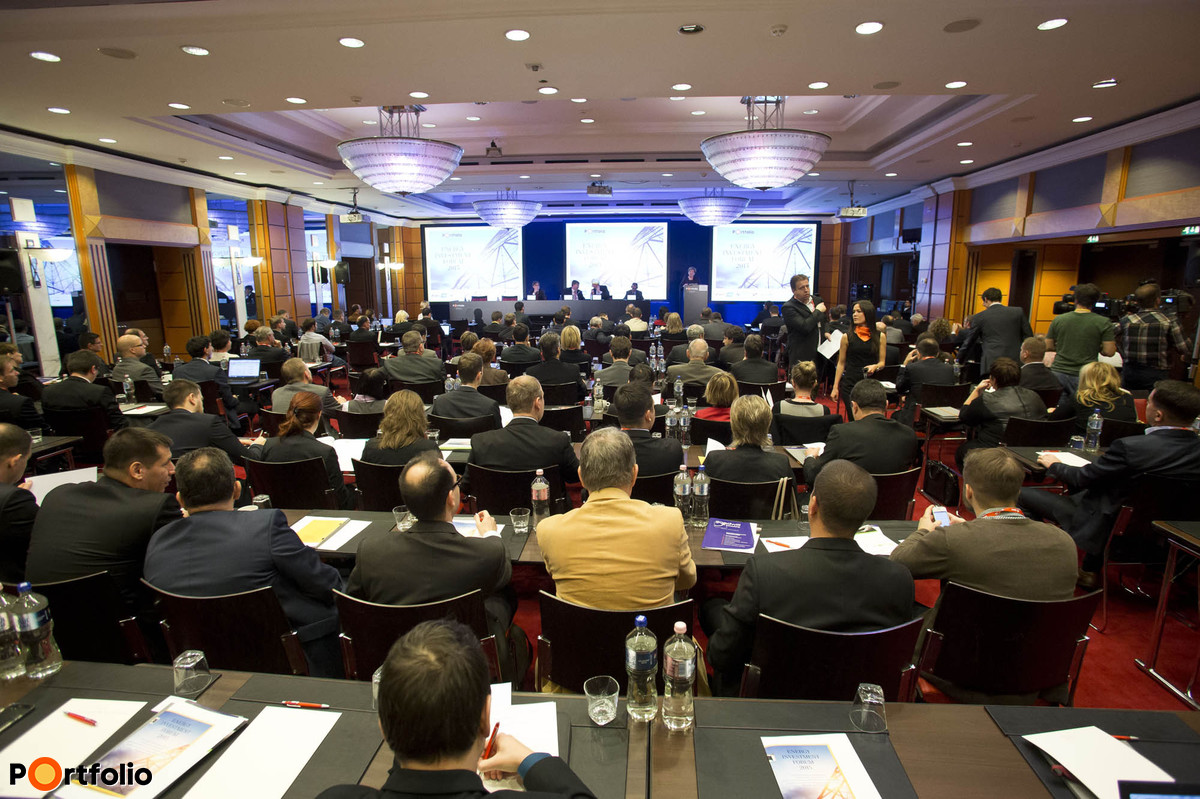 This year, it is the sixth time that Portfolio organizes its Energy Investment Forum 2015  conference in SOFITEL Budapest Hotel.