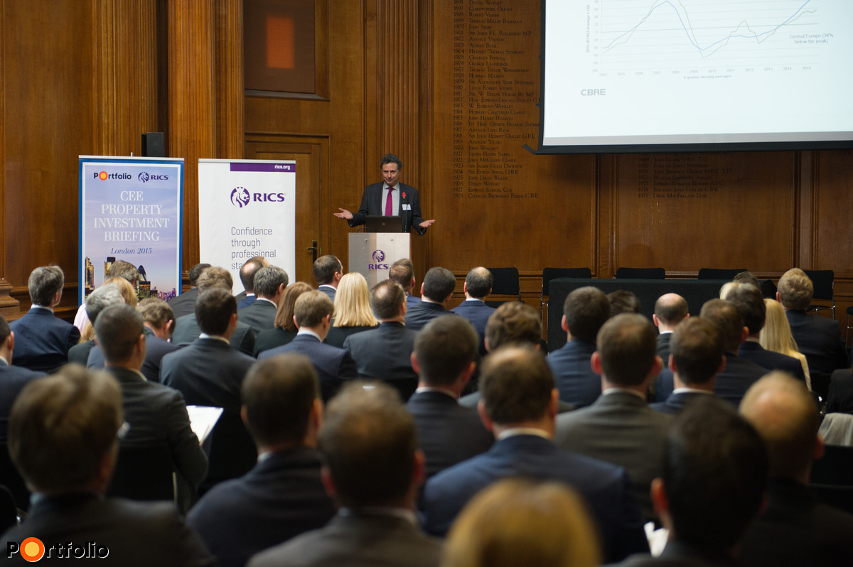 RICS- Portfolio CEE Property Investment Briefing - London 2015