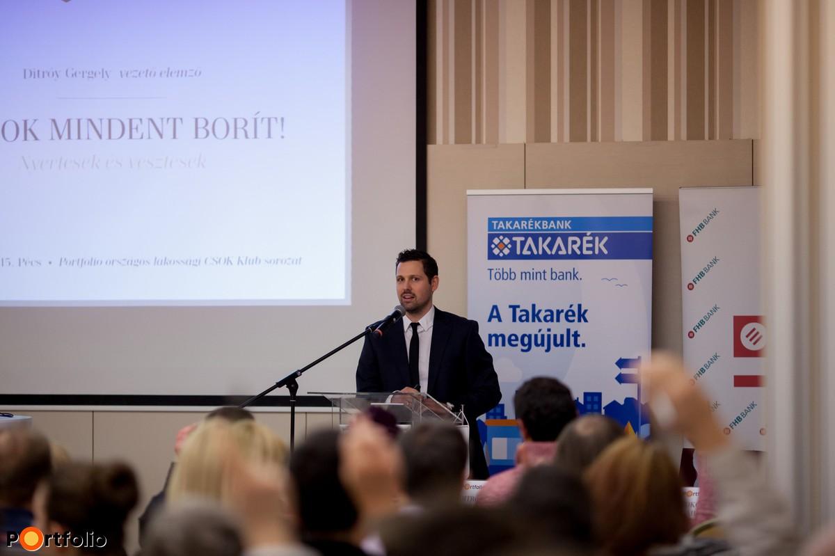Ditróy Gergely, vezető elemző, Otthontérkép