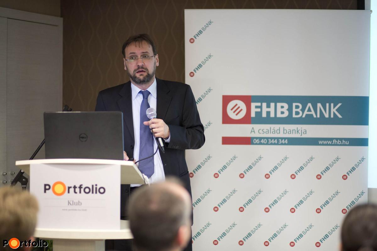 Tokodi Gábor, vezérigazgató-helyettes, FHB Bank Zrt.