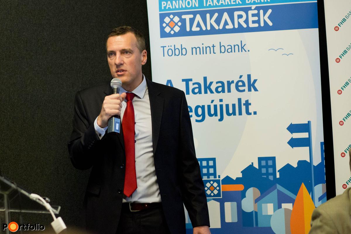 Hartmann Imre, elnök, Pannon Takarék Bank Zrt.