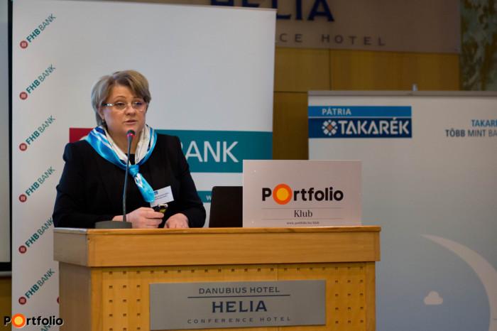 Csoltkó Endréné, elnök-ügyvezető, PÁTRIA Takarékszövetkezet
