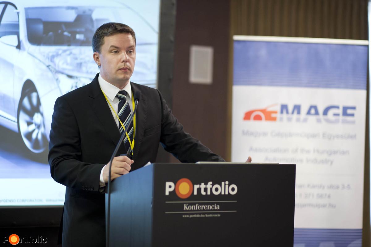 Szincsák Attila (General Manager of Business Administration, Denso Gyártó Mo. Kft.)