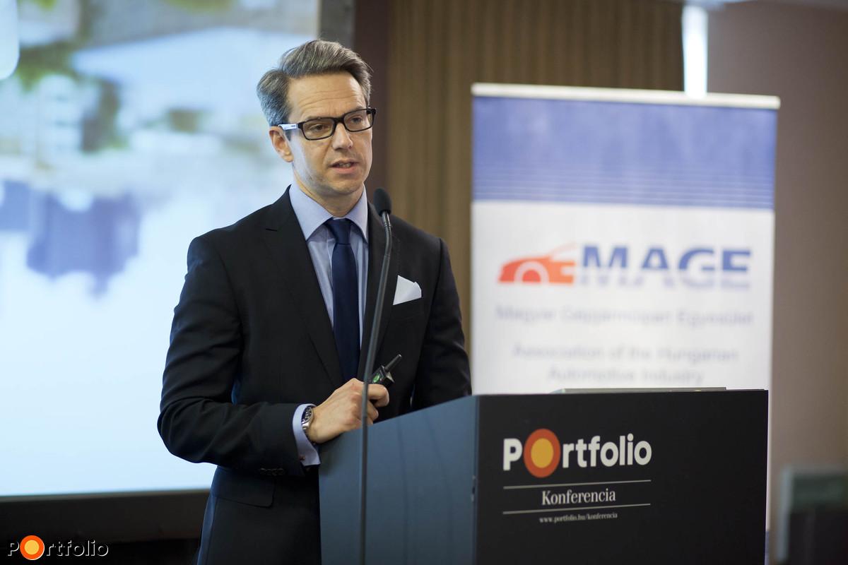 Finanszírozási eszközök és források a beszállítók fejlesztésére: Toldi Balázs (vezérigazgató, Budapest Lízing).