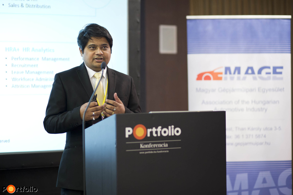 BI megoldások az autóiparban: Satya Prakash (Managing Director, GrayMatter – Europa).