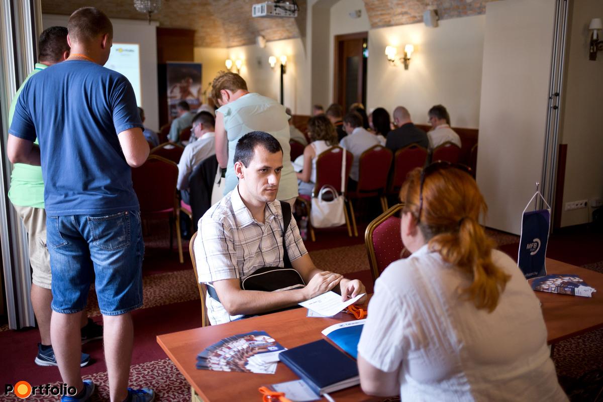 Személyes tanácsadás Székesfehérváron (Fotó: Todoroff Lázár)