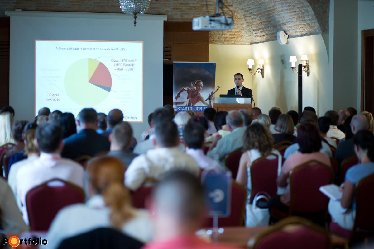 Elstartoltak a nulla százalékos EU-hitelek! Országos rendezvénysorozat az MFB Pontokról - Székesfehérvár (Fotó: Todoroff Lázár)