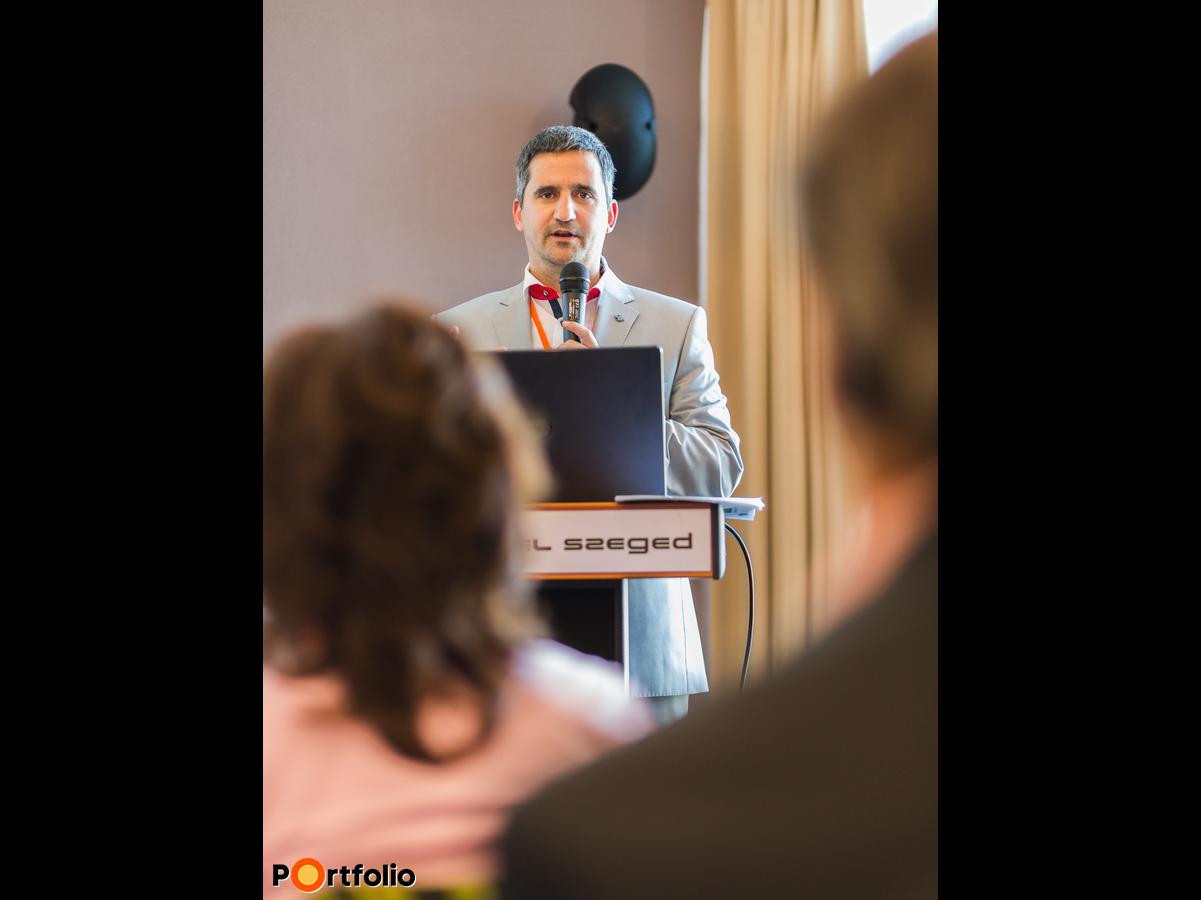 Eőry Gábor (ügyvezető igazgató, Értékesítés-irányítási Igazgatóság, MFB Zrt.): Fókuszban a kkv-k - elindult az MFB Pontok hálózata, elérhető a Mikro-, kkv-versenyképesség növelése hitelprogram (Fotó: Todoroff Lázár)