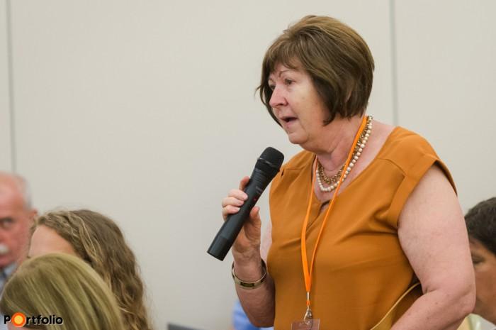 A hallgatóság is feltehette kérdéseit az előadóknak (Fotó: Todoroff Lázár)