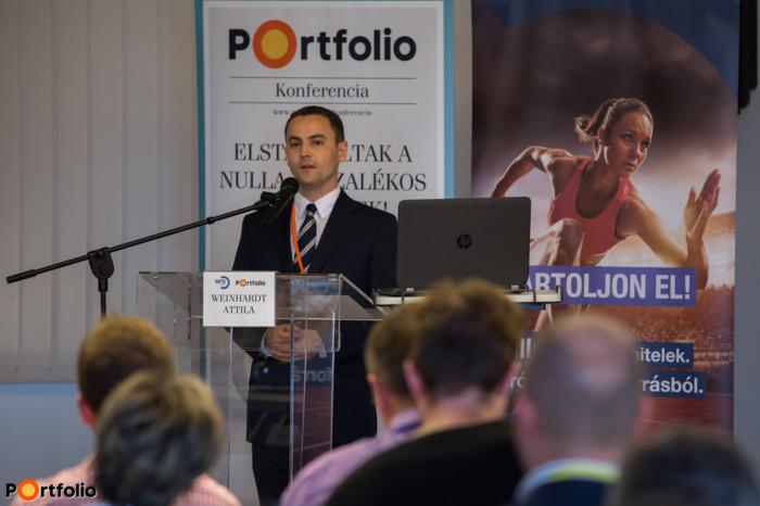 Weinhardt Attila (vezető elemző, Uniós Források rovatvezető, Portfolio): Az EU-s visszatérítendő pénzügyi eszközök Magyarországon – Kihívások és lehetőségek 2014-2020 között (Fotó: Todoroff Lázár)