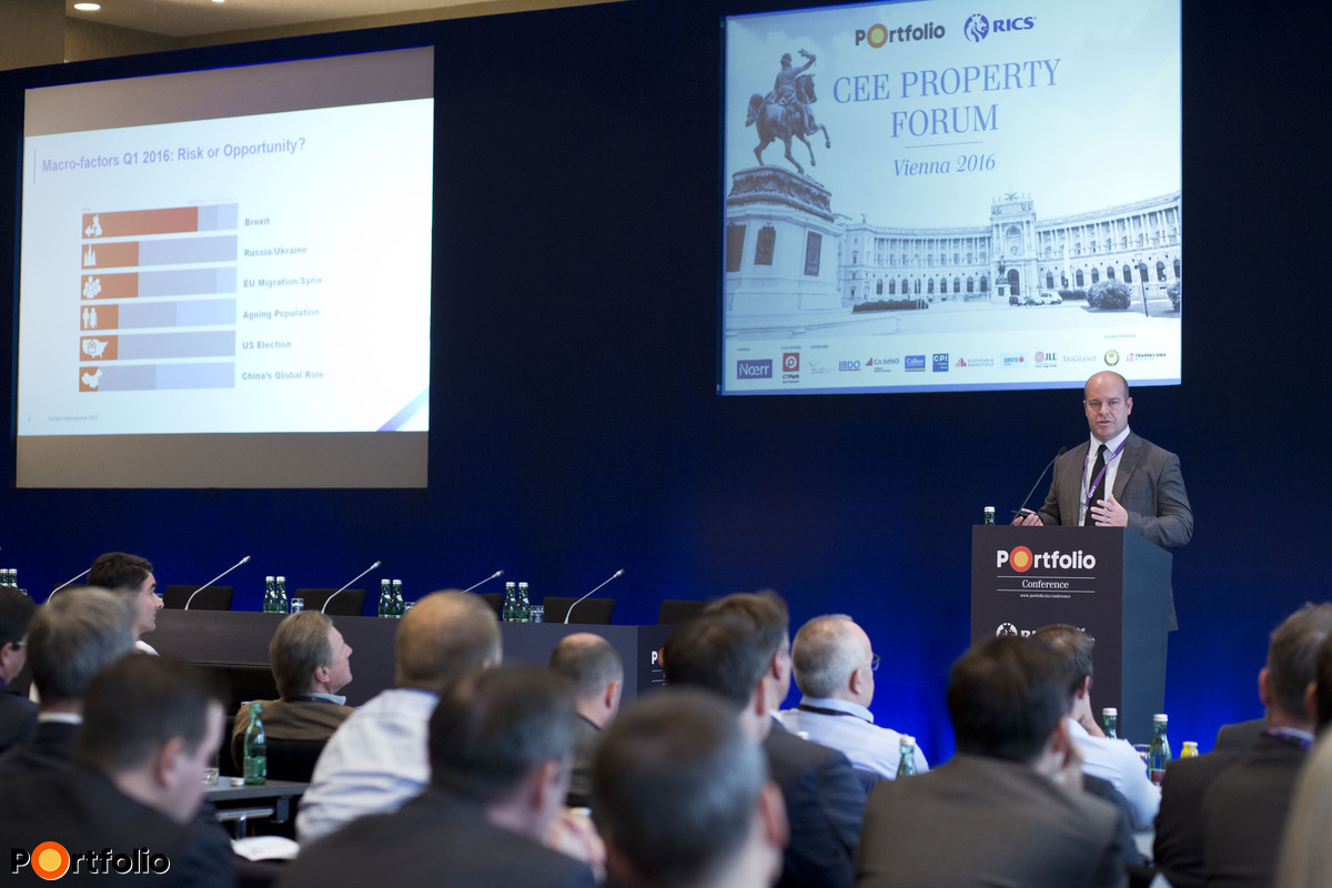 Damian Harrington MRICS (Head of EMEA Research, Colliers International): The world of real estate in 2017 – A European outlook