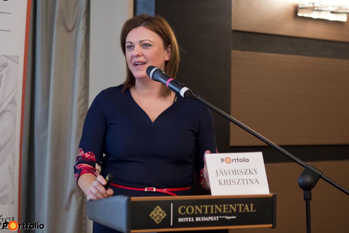 Jávorszky Krisztina (igazgató, OTP Faktoring Zrt.): Informatikai megoldások a követelés-kezelésben