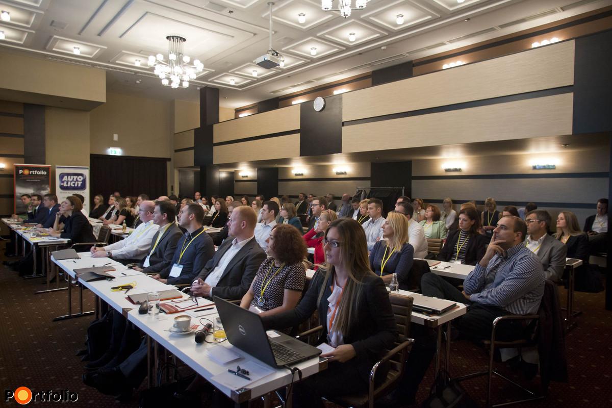 Portfolio-EOS konferencia a Continental Hotelben: Követelés-kezelési trendek 2016-ban
