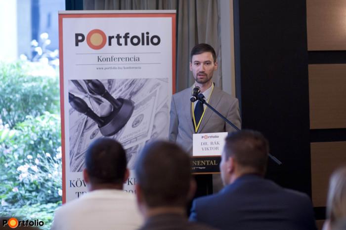 Dr. Rák Viktor (irodavezető helyettes, MOKK): Az európai fizetési meghagyásos eljárás gyakorlata
