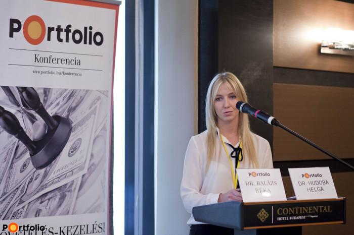 Dr. Hudoba Helga (Senior jogi előadó, EOS Magyarország): Adatvédelmi elvek a követelés-kezelésben