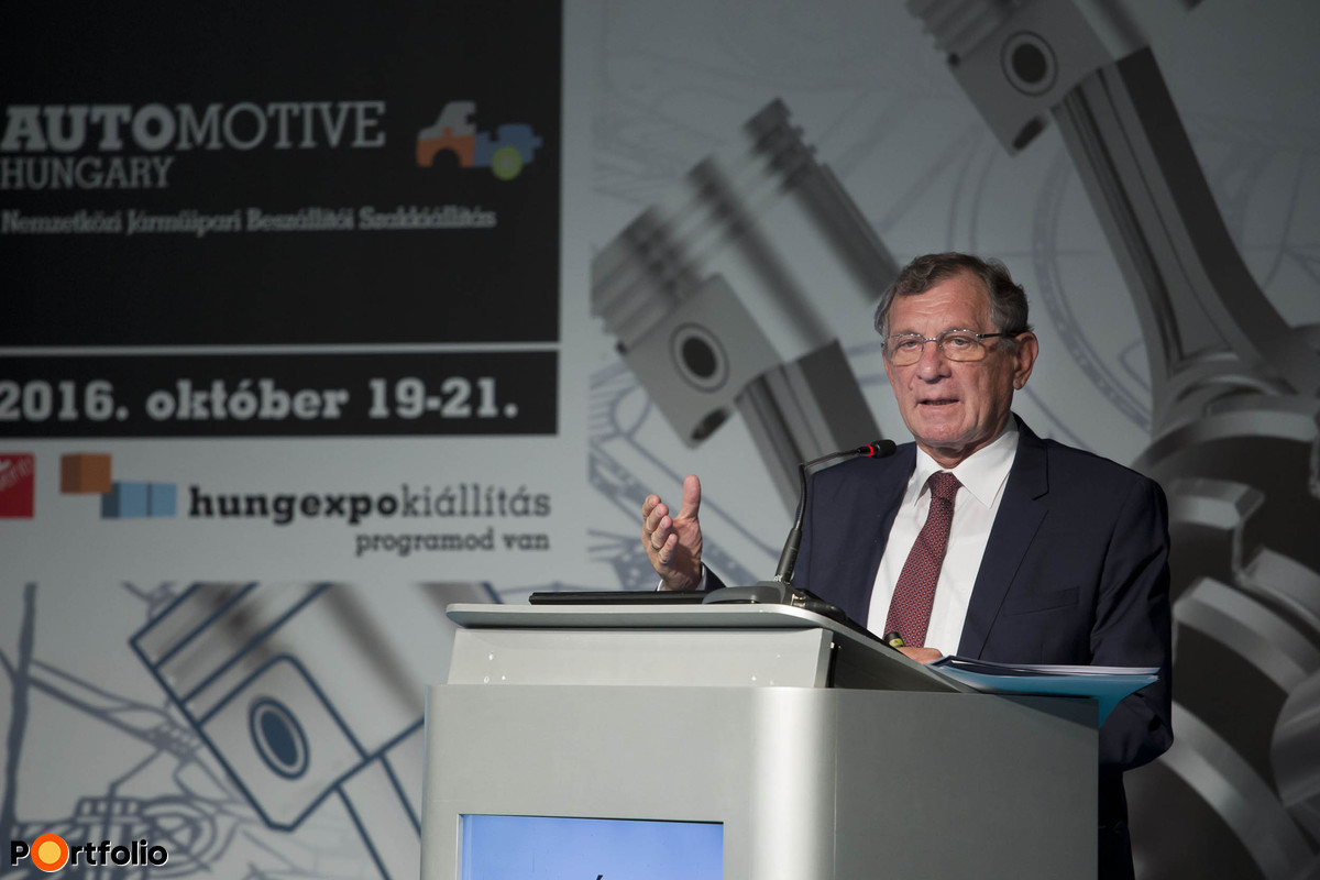 István Lepsényi (Minister of State for Economic Development and Regulation, Ministry for National Economy):  Development paths of the Irinyi Plan regarding the automotive industry