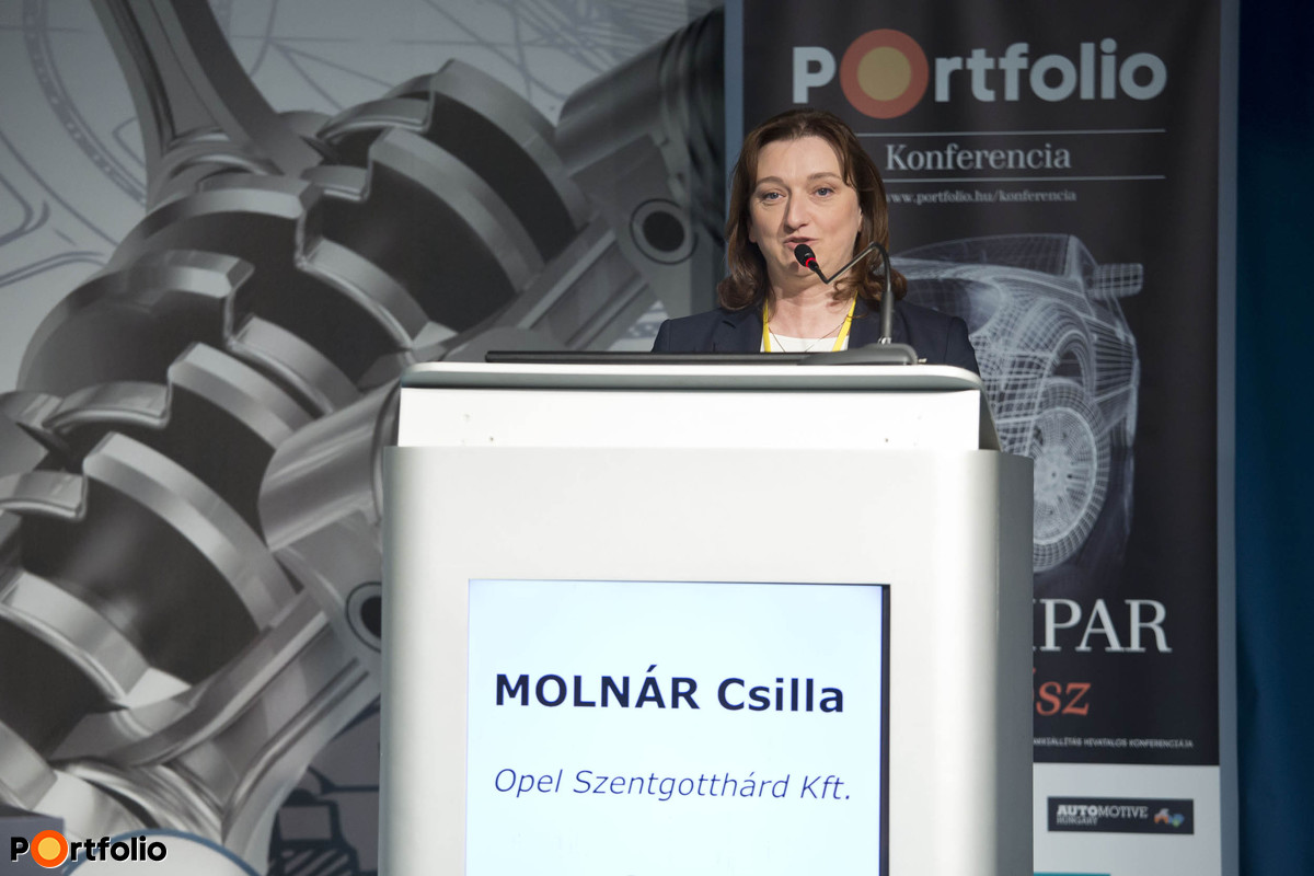 Csilla Molnár (HR Manager, Opel Szentgotthárd)
