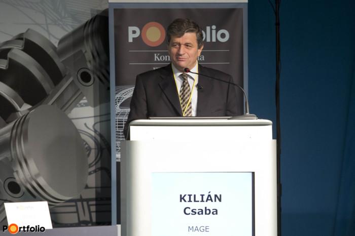 Welcome speech (Csaba Kilián, CEO, MAGE)