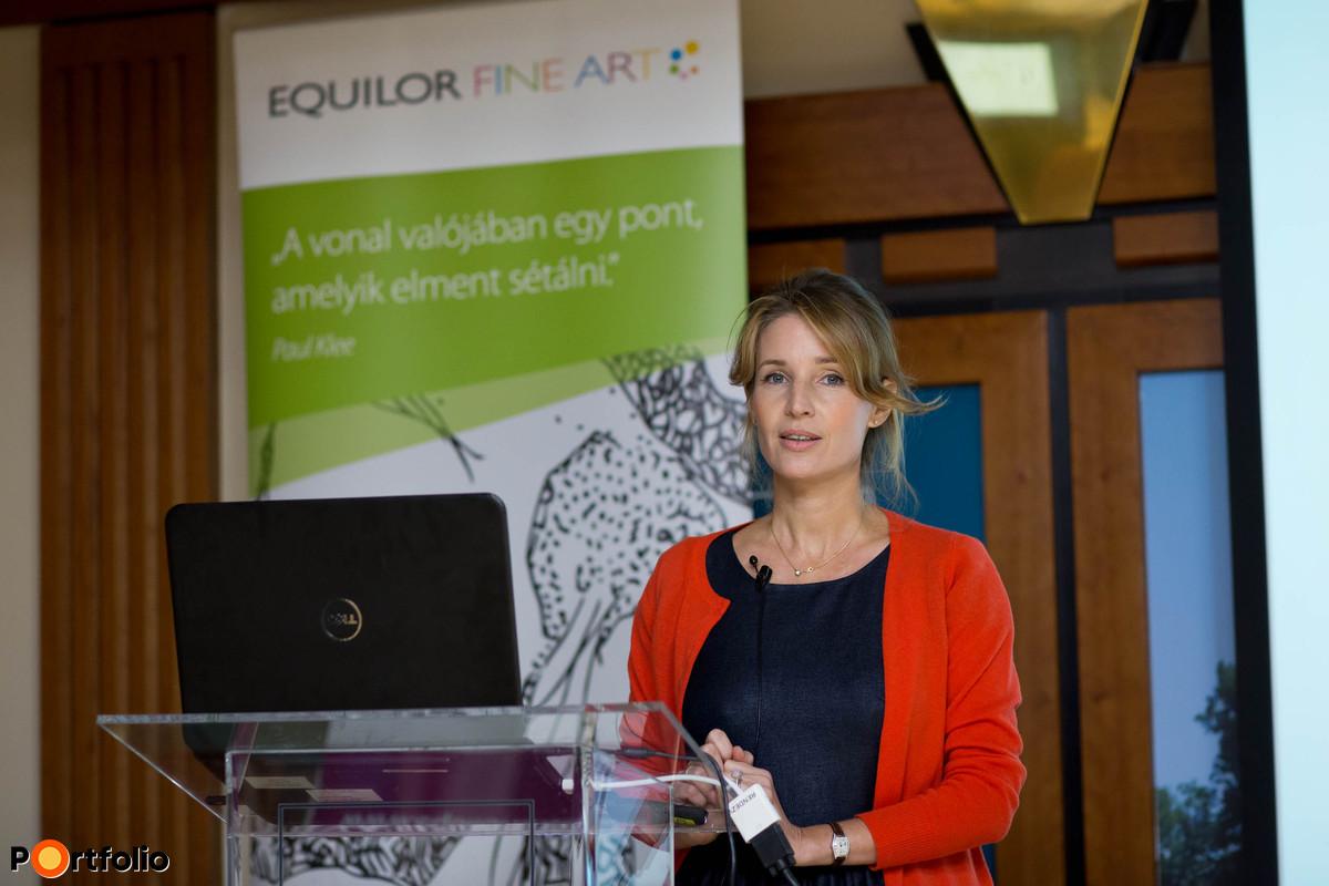 Dr. Gereben Katalin, ügyvezető igazgató, Equilor Fine Art