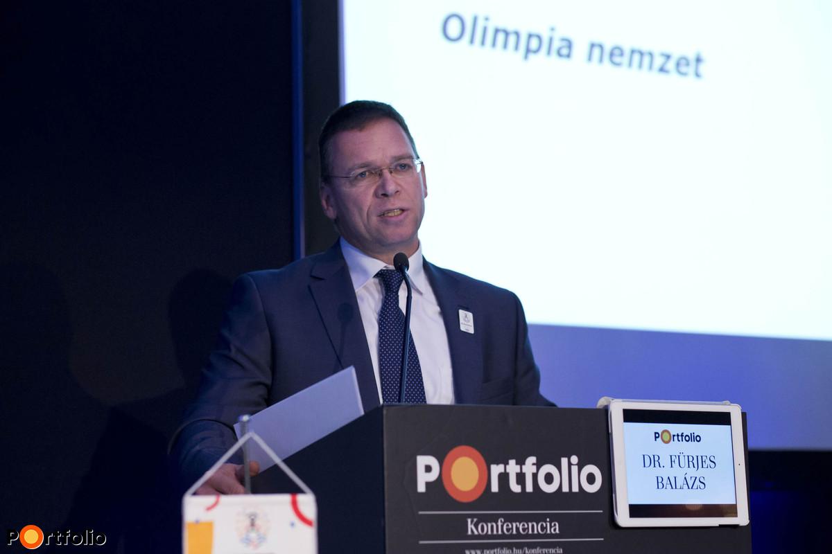 Dr. Fürjes Balázs (A Budapest 2024 olimpiai pályázat elnöke, kormánybiztos, Budapest 2024): A 2024-es olimpia megrendezésére vonatkozó budapesti pályázat bemutatása