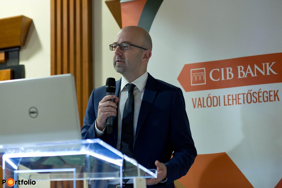 Hajdu Egon, befektetési igazgató, CIB Alapkezelő