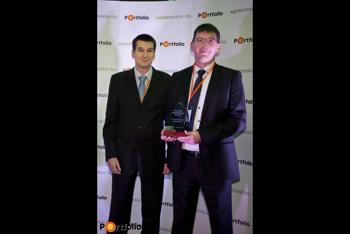 Portfolio Agrarian Sector Awards Ceremony - Dr. Szabolcs Magyar és Kálmán Kelemen, Hungrana
