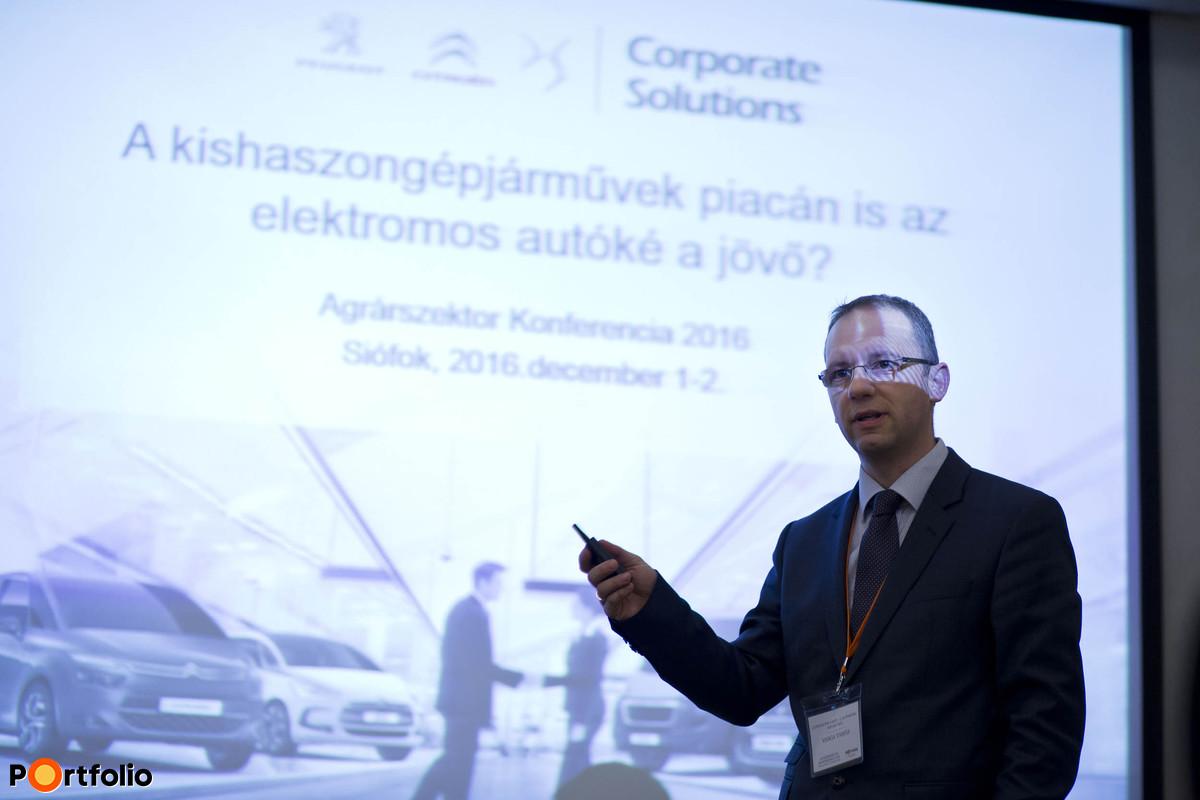 Tamás Varga (vállalati értékesítési menedzser, Citroen/Peugeot – C Automobil Import Kft.): Zsebre megy a játék: elektromos kontra dízel