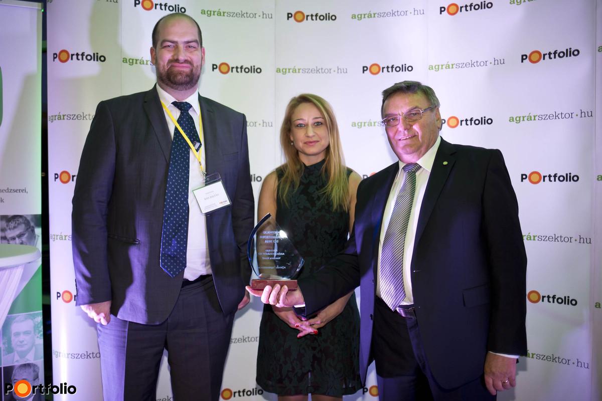 Portfolio Agrarian Sector Awards Ceremony - József Vancsura (elnök, GOSZ)