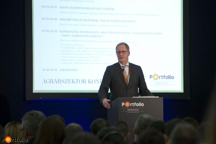 Joost Korte (főigazgató-helyettes, Európai Bizottság Mezőgazdasági és Vidékfejlesztési Igazgatóság): Present and future of the CAP