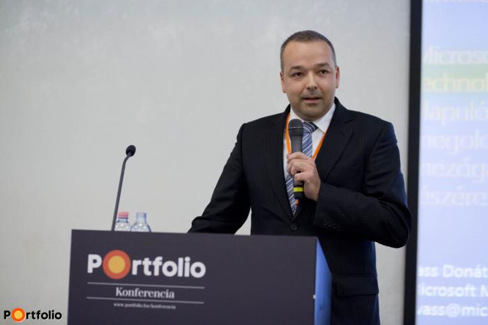 Donát Vass (Account Executive, Kormányzati Üzletág, Microsoft Hungary): Microsoft technológián alapuló megoldások az agrárium számára